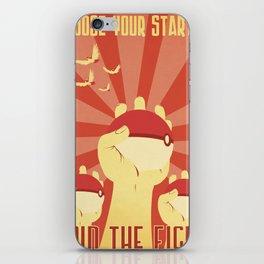 """Join the Fight"" Propaganda iPhone Skin"