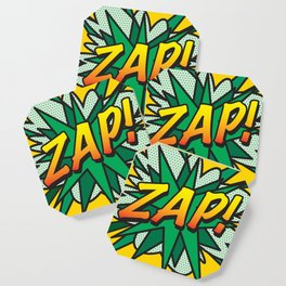 Comic Book ZAP! Coaster