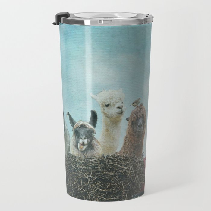 ALPACA WANDERLUST II SUMMER EDITION Travel Mug