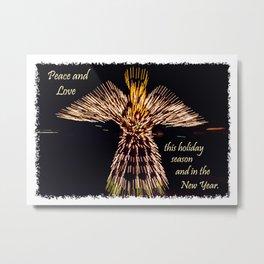 Angel of Lights Metal Print