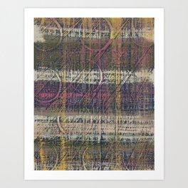 Stripes Not Seen Art Print