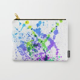 Multicolor Madness - Splatter Style Carry-All Pouch