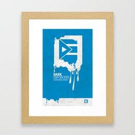 DE Poster #3 Framed Art Print
