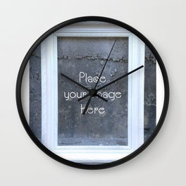 Place your image here Wall Clock