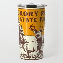 Hickory Run Camping Buck Deer PA Park Travel Mug