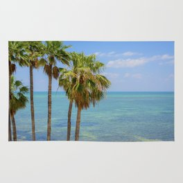 Palms in Paradise Rug