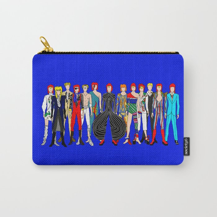 Blue Heroes Group Fashion Outfits Carry-All Pouch