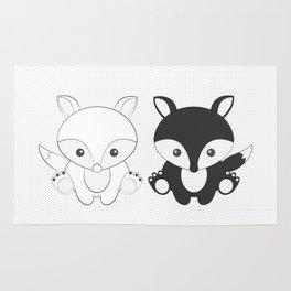 Twins Fox Rug