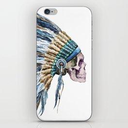 Skull 04 iPhone Skin