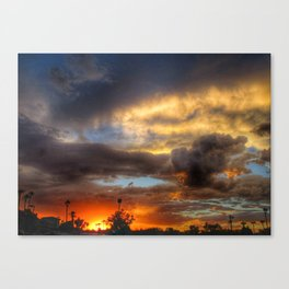 Mother Nature's Painting Canvas Print