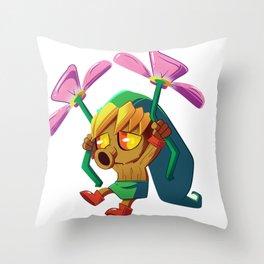 Deku Link Throw Pillow
