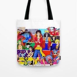 Straw Hat Crew Tote Bag