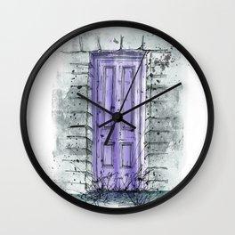 Secret Doors | Overgrown Wall Clock