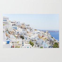 Fira, Santorini Greece Rug