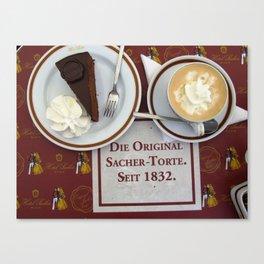 Sacher-Torte Canvas Print