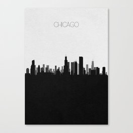 City Skylines: Chicago Canvas Print