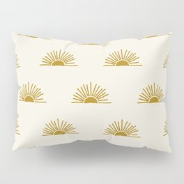 Sol in Natural Pillow Sham