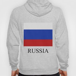 Russia flag Hoody
