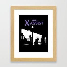 The X-Assist Framed Art Print