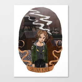 Young Selina Kyle Canvas Print