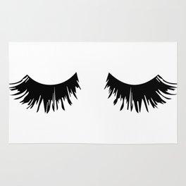 Eyelash Print Rug