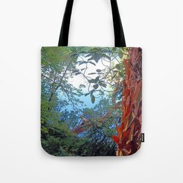 Stripping Beauty Tote Bag