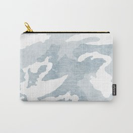 Chambray camo Carry-All Pouch