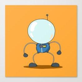 Steamboat Astronaut Canvas Print