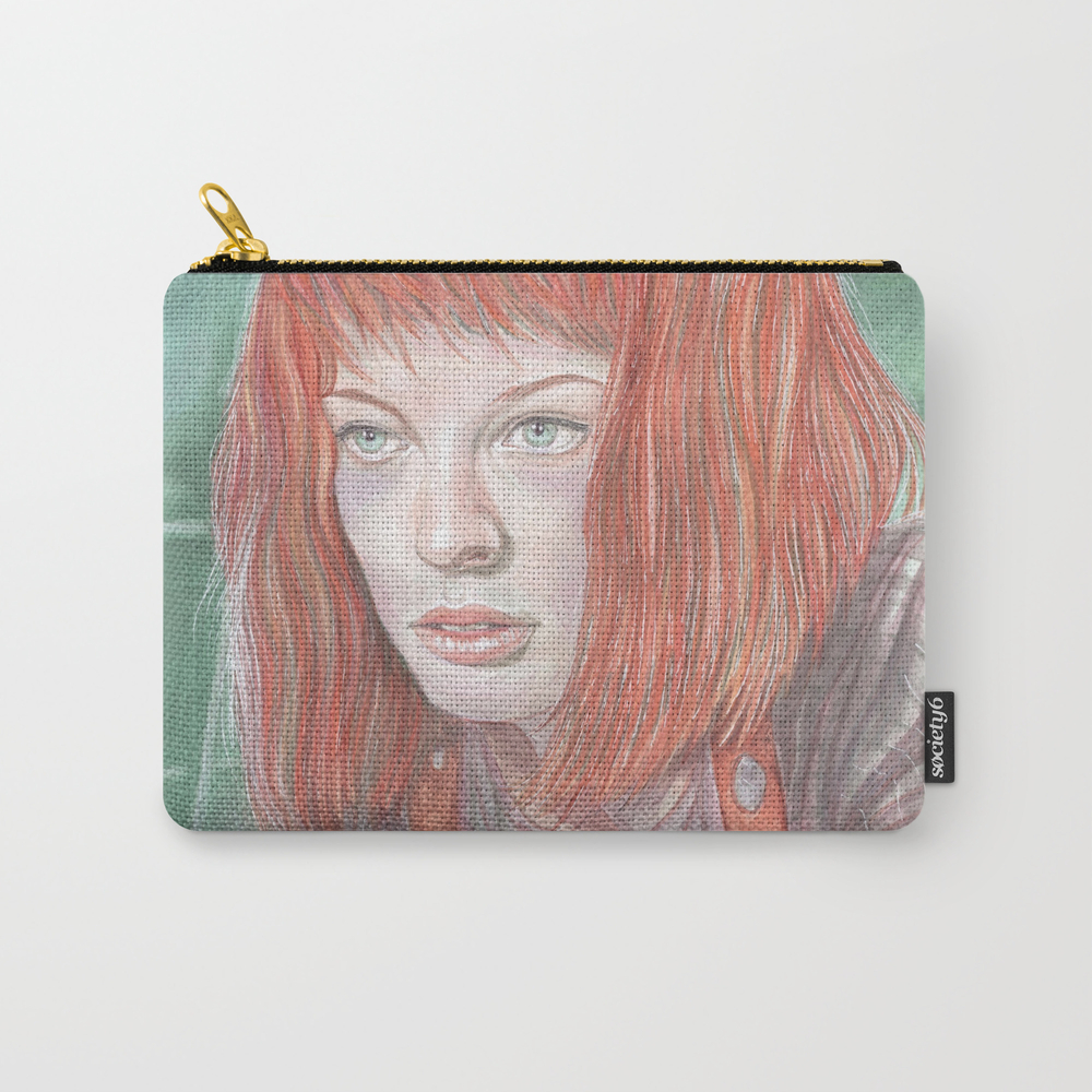 Leeloo - The Fifth Element Carry-all Pouch by Breakthemouldb3 CAP8817740