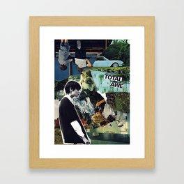 Total Awe Framed Art Print