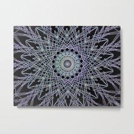 Simetry Star Metal Print