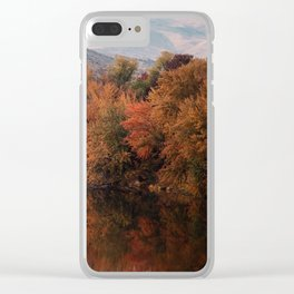 Reflections of Fall Clear iPhone Case