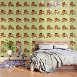 Burgers and Pizzerman Wallpaper