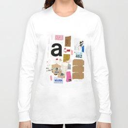 Paper Trail I  Long Sleeve T-shirt