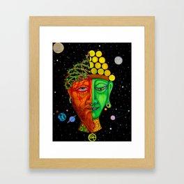 Dualidad Framed Art Print