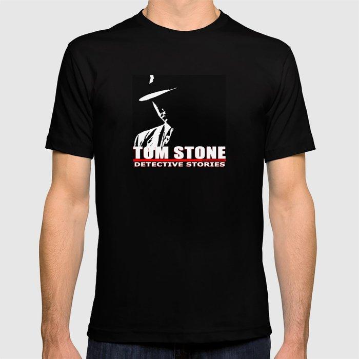 Tom Stone Detective Stories T-shirt