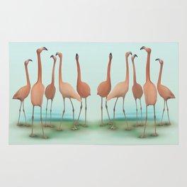 Flamingo Mingle Rug