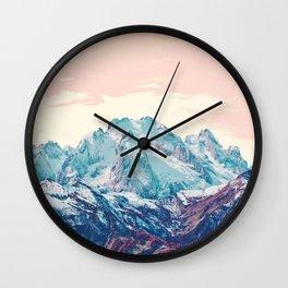 Memories of a sky palette Wall Clock