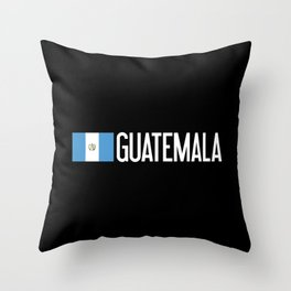 Guatemalan Flag & Guatemala Throw Pillow