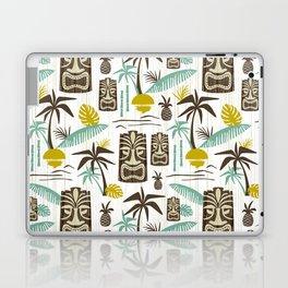 Island Tiki - White Laptop & iPad Skin