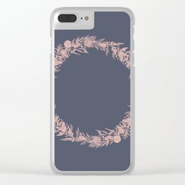 Dawn of Flowers, Rose. Clear iPhone Case