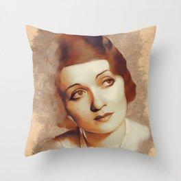 Constance Bennett, Hollywood Legend Throw Pillow