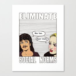 Ability to eliminate social norms Canvas Print