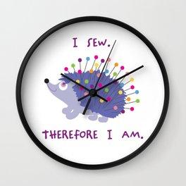 Sew Happy Wall Clock