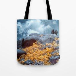 Cracked Big Rock Tote Bag