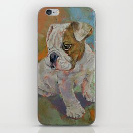 Bulldog Puppy iPhone Skin