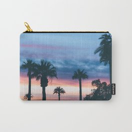 Faded Tropical Sunset (Color) Carry-All Pouch