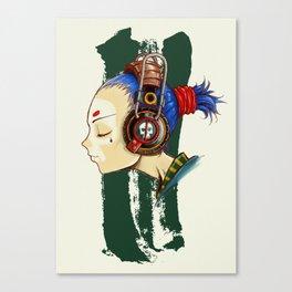 Skullgirl Canvas Print