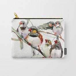 ZeBra Finch Carry-All Pouch