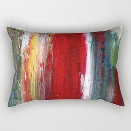 brushing off Rectangular Pillow